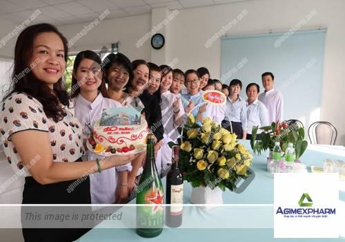 Mừng sinh nhật lần thứ 10 (2008-2018) Nhà máy sản xuất dược phẩm Agimexpharm