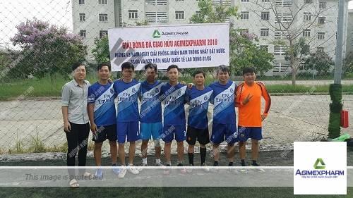 Đoàn cơ sở Công ty CP Dược phẩm Agimexpharm tổ chức giải bóng đá tứ hùng chào mừng các ngày lễ lớn của đất nước (30/04/1975 – 30/04/2018)