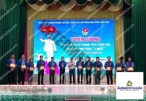 """Đoàn khối Doanh nghiệp An Giang tham dự Lễ Tuyên dương Thanh niên có thành tích xuất sắc trong phong trào """"4 nhất"""""""