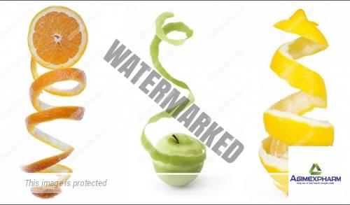 Dưỡng chất từ vỏ trái cây