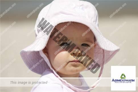 Phòng ngừa chứng say nắng ở trẻ em