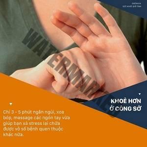 Dân công sở hãy học người Nhật xả stress cực hay trong 3′ chỉ bằng cách nắm các ngón tay