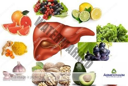 Giải độc gan bằng thực phẩm